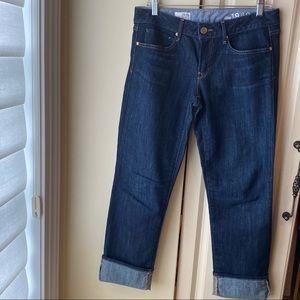 GAP 1969 Women's Real Straight Dark Wash Jeans